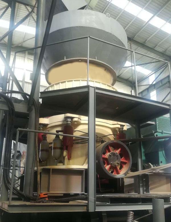 HTP多缸500高效液压圆锥破碎机